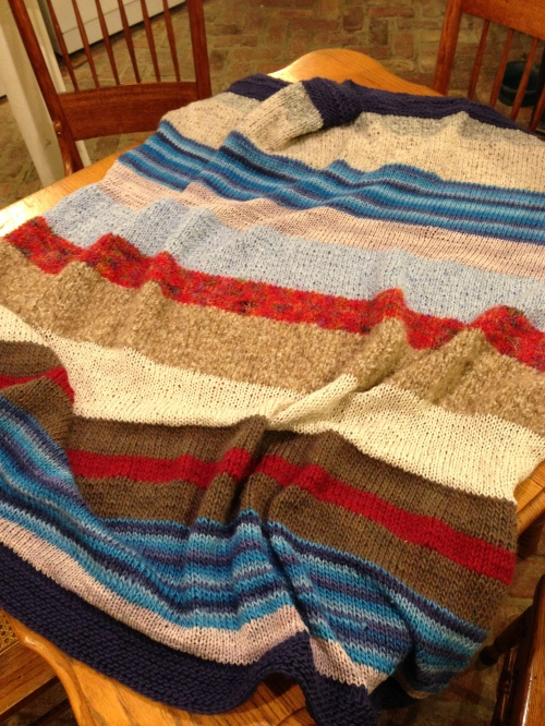 blanket full on