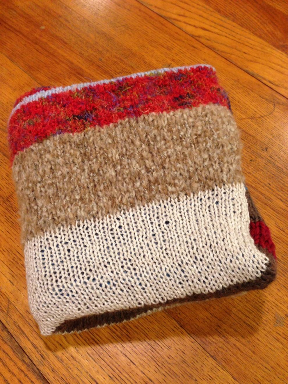 folded blanket