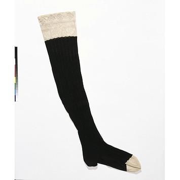 machine knitted stocking 1851