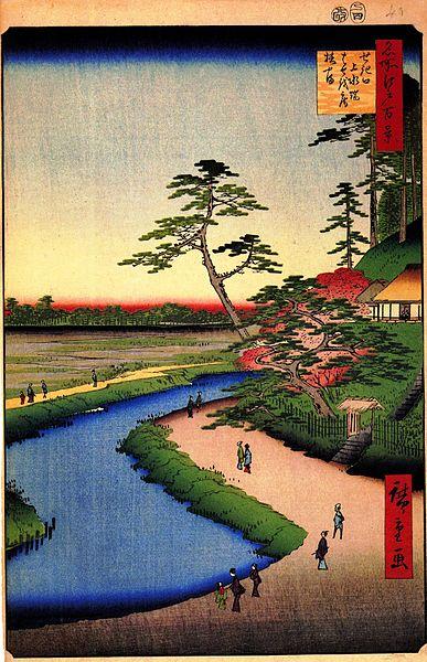 Basho's hut on Camellia Hill