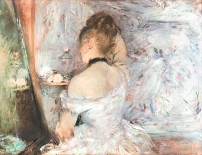 Lady at her Toilette