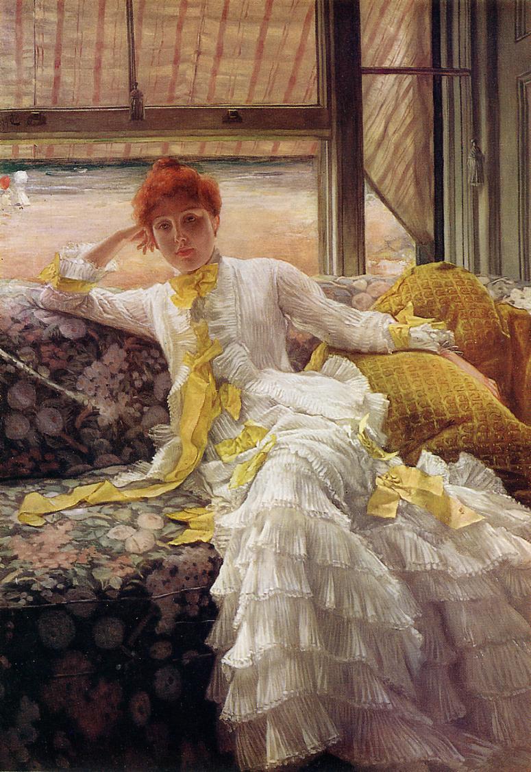 James Tissot 1836-1902 - French Plein Air painter - Tutt'Art@ (8)