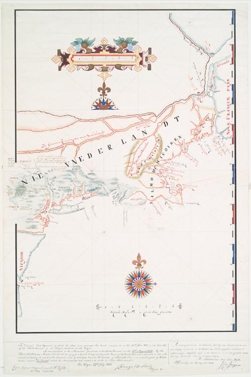 Adriaen Block's map