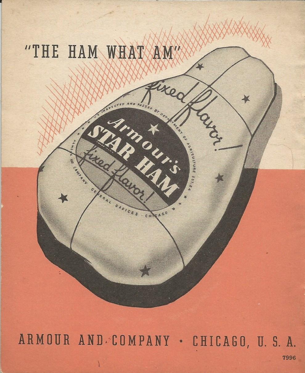 Armour's Ham Over copy