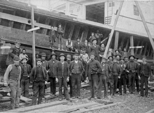 Boatbuilders at Rondout
