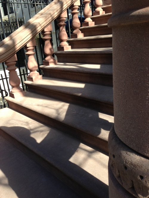 brownstone steps