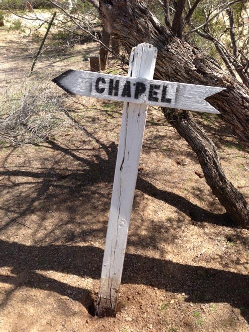 chapel sign cu