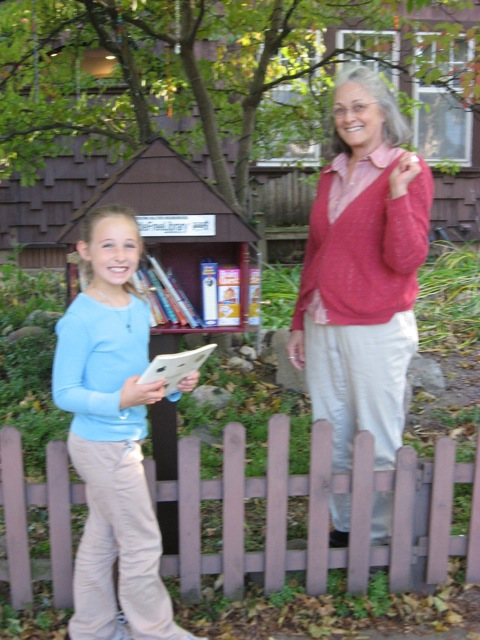 Mimi's Little Free Library
