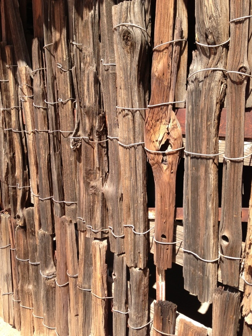 rough wood fences