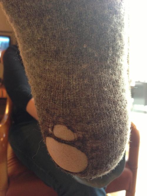 sock hole