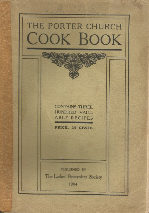 The Porter Church Cook Book 1