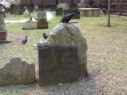 trinity gravestone