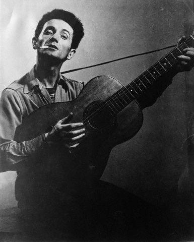 Folk Musician Woody Guthrie