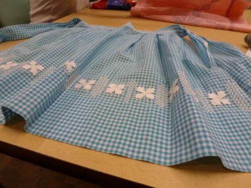cross stitch:applique