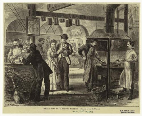 Fulton Market, 1870