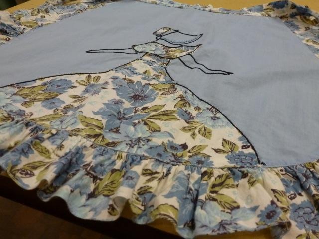 girl apron pattern