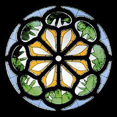 henri matisse rose window at union church