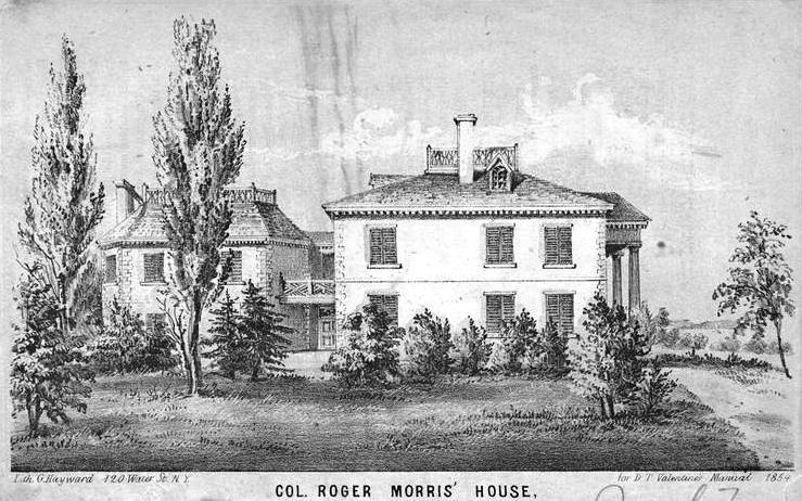 jumel mansion 1854