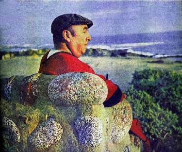 Pablo-Neruda outdoors