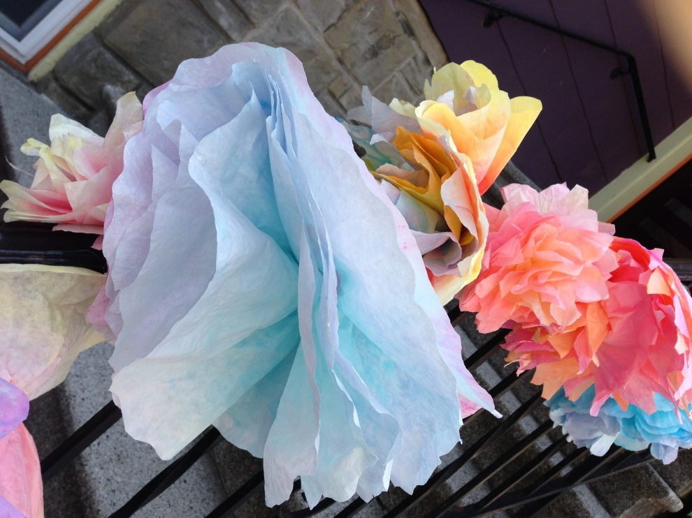 paper filter flowers