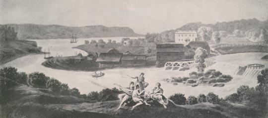 Philipse Manor Hall 1784