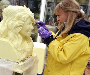 butter sculpting