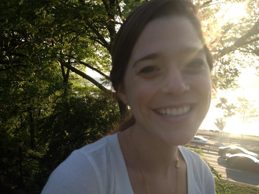 Maud in sunlight