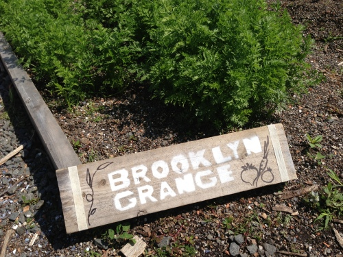 brooklyn grange sign