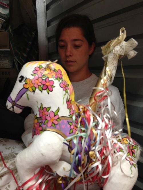 maud:horse