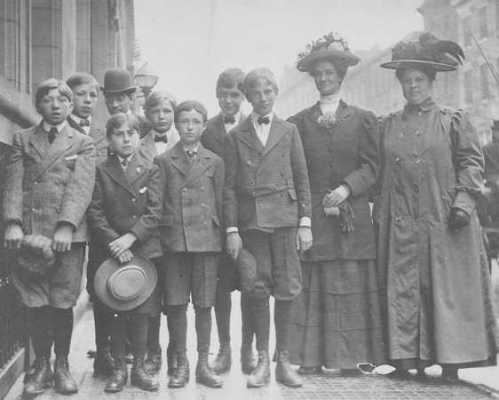 orpans with women