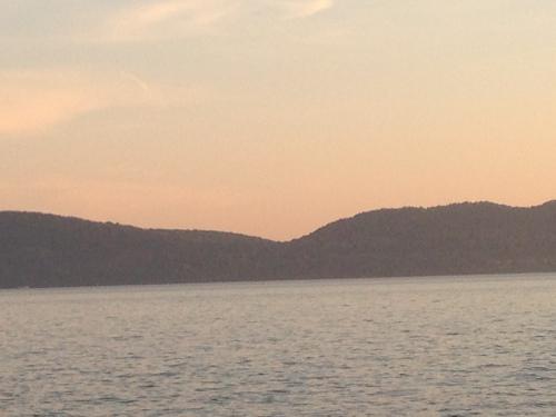 sunset hudson