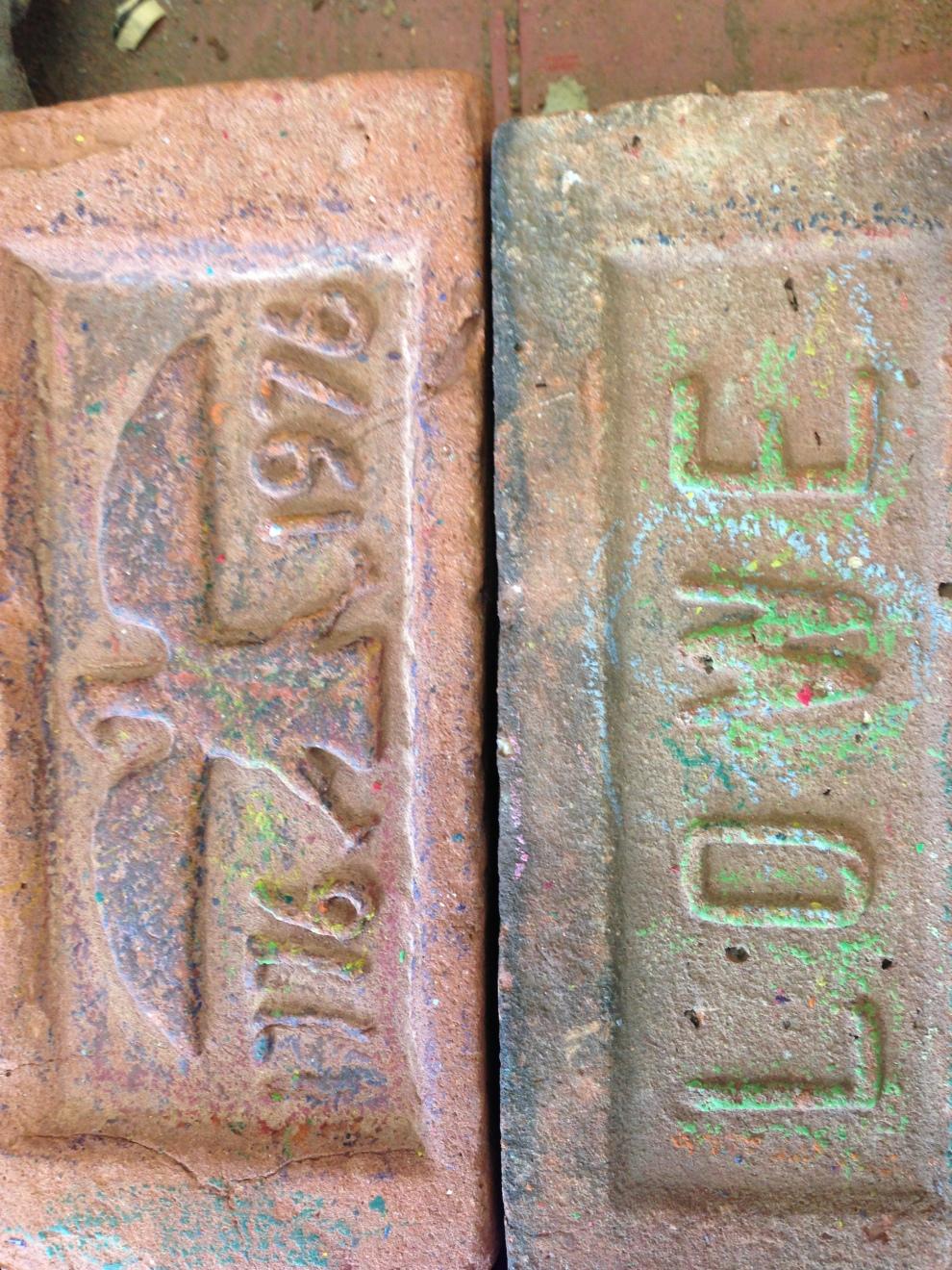2 bricks