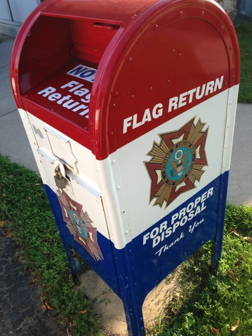 flag return