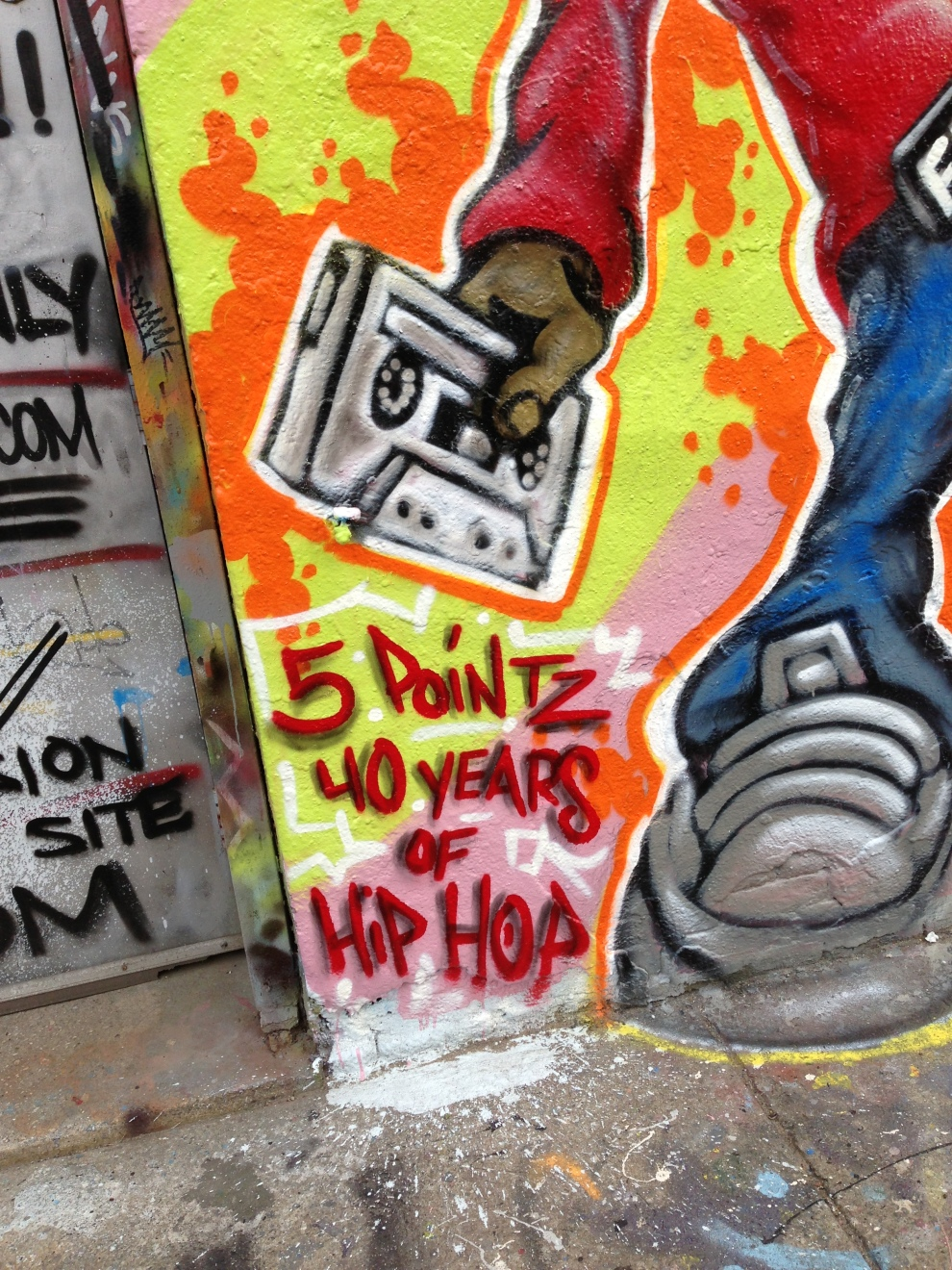 40 years of hip hop