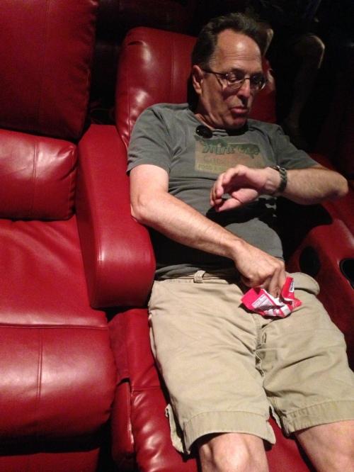 gil reclining