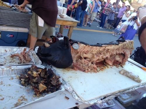 pig bones