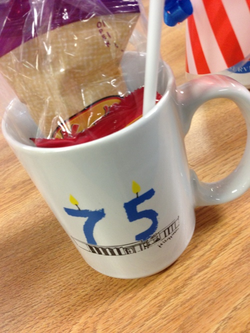 croton library anniversary cup
