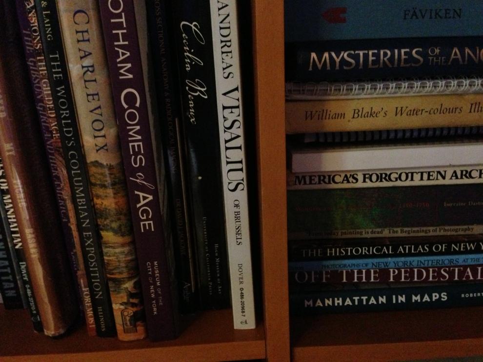 double shelves