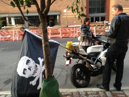 pirate bike