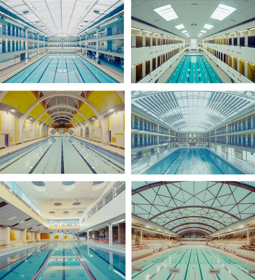 swimming pools:photos by Franck Bohbot
