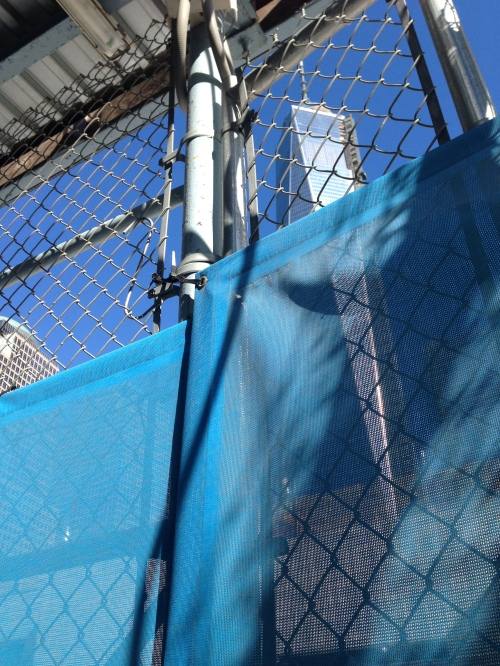 freedom tower fence
