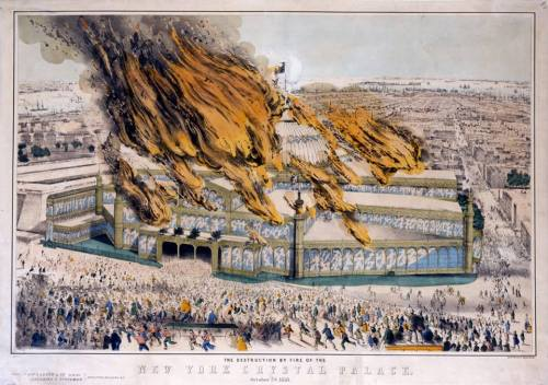 Oct 5, 1858 crystal palace burns