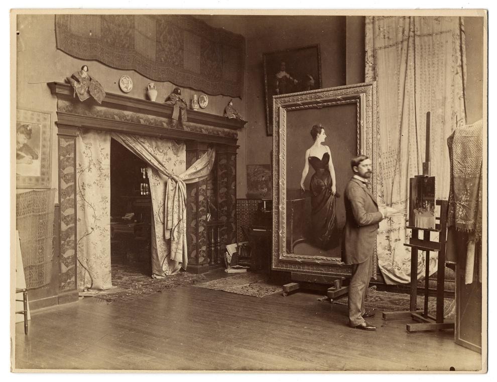 Sargent in Studio