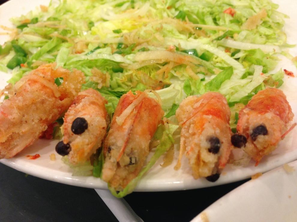 shrimp heads