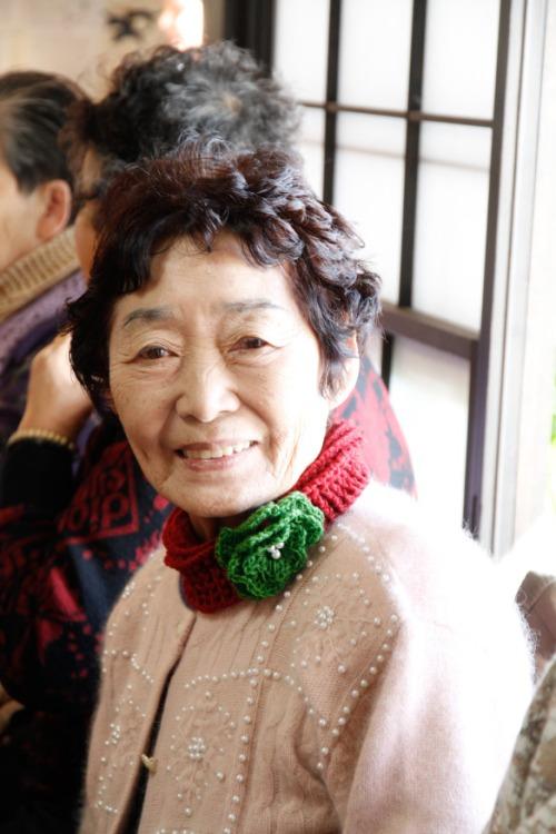 lady w scarf