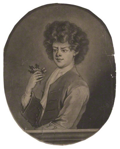 NPG D3895; Peter the Wild Boy by John Simon, after  William Kent