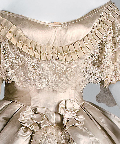 1861 Worth and Bobergh gown