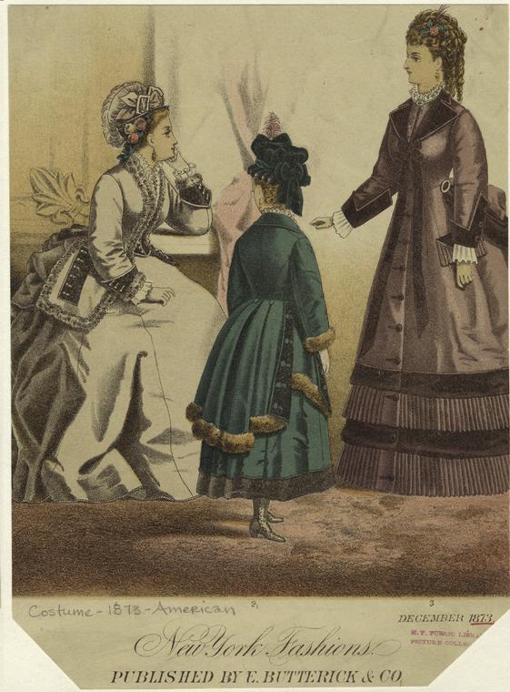 1873 NY Fashions