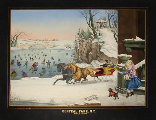 carriages central park