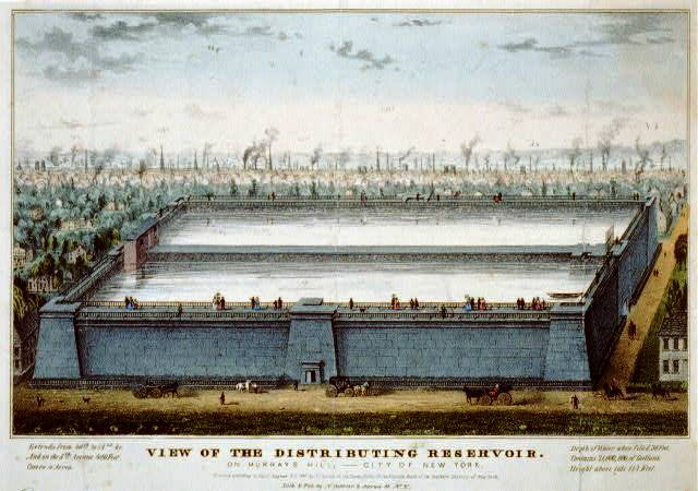 currier-ives-print-of-croton-reservoir